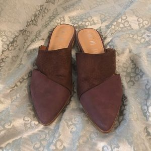 Miim maroon leather shoes size 7.5